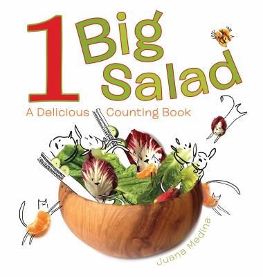 Details about 1 Big Salad: A Delicious Counting Book