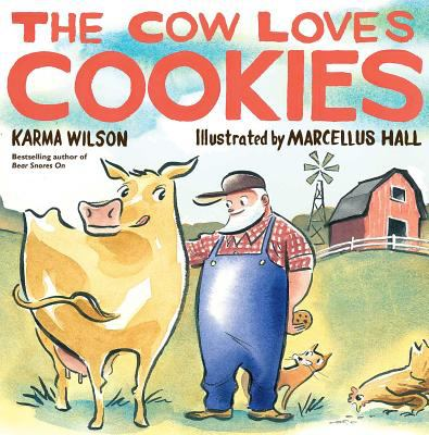 Details about The Cow Loves Cookies