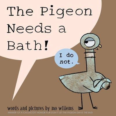 Details about The pigeon needs a bath!