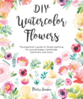 Details about DIY Watercolor Flowers