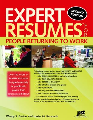 Details about Expert resumes for people returning to work