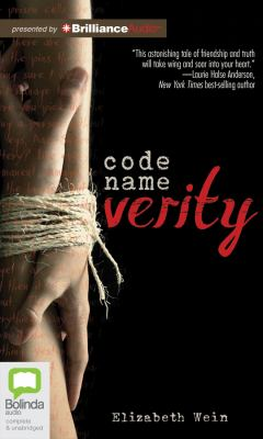 Details about Code Name Verity (sound recording)