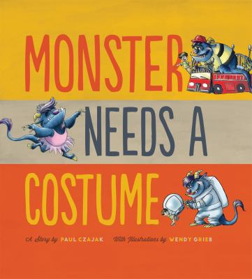 Details about Monster Needs a Costume : a Story