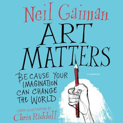 Details about Art Matters: Because Your Imagination Can Change the World [cdbook]