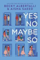 Yes No Maybe So Cover Image