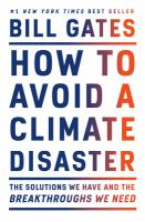How to Avoid a Climate Disaster Cover Image