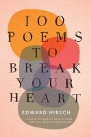 100 Poems to Break Your Heart Cover Image