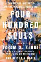 Four Hundred Souls: A Community History of African America Cover Image