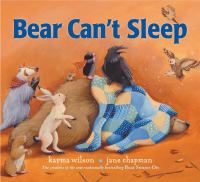 Bear Can't Sleep Cover Image