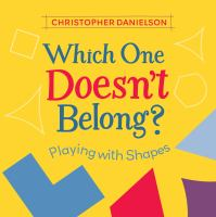 Which One Doesn't Belong? Playing with Shapes Cover Image