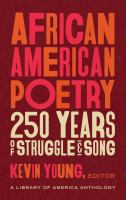 African American Poetry: 250 Years of Struggle and Song Cover Image