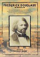 Frederick Douglass in Brooklyn Cover Image