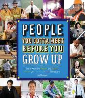 People you gotta Meet Before You Grow Up Cover Image