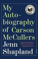 My Autobiography of Carson McCullers Cover Image