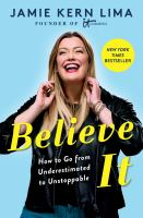 Believe It Cover Image
