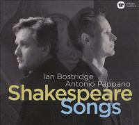 Shakespeare Songs Cover Image
