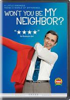 Won't You Be My Neighbor Cover Image