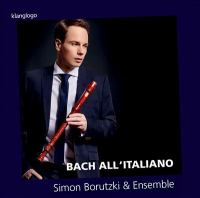 Bach All'Italiano Cover Image
