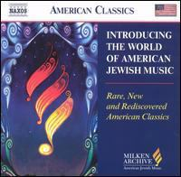 Introducing the World of American Jewish Music Cover Image