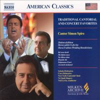 Traditional Cantorial and Concert Favorites Cover Image