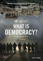 What is Democracy? Cover Image