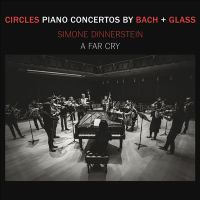 Circles: Piano Concertos by Bach + Glass Cover Image
