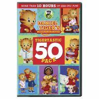 Daniel TIger's Neighborhood Tigertastic 50 Pack DVD Cover Image