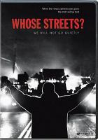 Whose Streets Cover Image