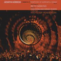 Górecki: Symphony of Sorrowful Songs Cover Image
