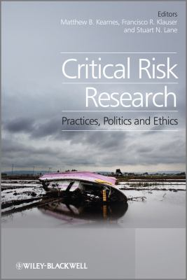 Book Cover: Critical Risk Research