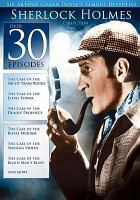 Cover image for Sherlock Holmes collection Ronald Howard as Sherlock Holmes.