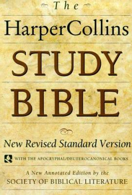cover of The HarperCollins Study Bible: New Revised Standard Version, with the Apocryphal/Deuterocanonical Books