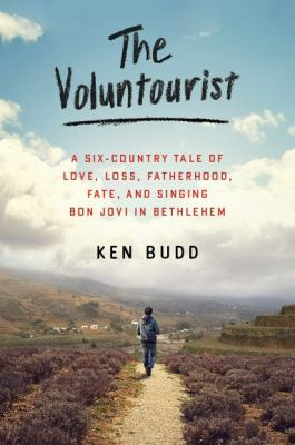 Cover Art for The Voluntourist by Ken Budd