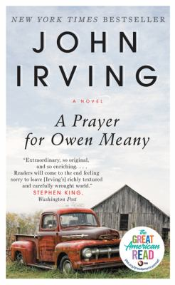 Book cover- A Prayer for Owen Meany