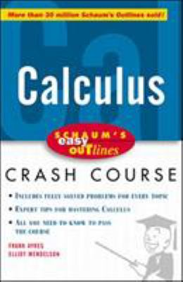 book cover - Calculus Crash Course