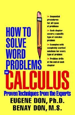 book cover - How to Solve Word Problems in Calculus