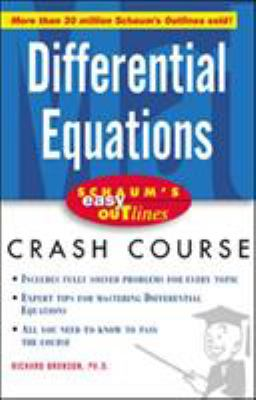 book cover: Differential Equations Crash Course