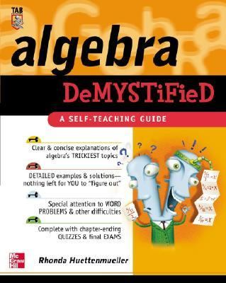 book cover Algebra Demystified