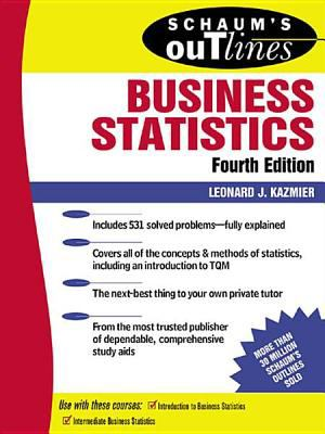 book cover: Schaum's Outline of Theory and Problems of Business Statistics