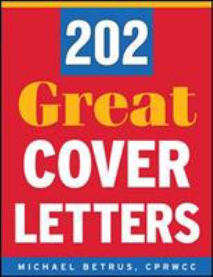 Cover image for 202 Great Cover Letters