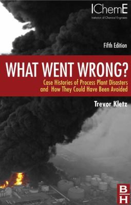 book cover: What Went Wrong?  : case histories of process plant disasters and how they could have been avoided