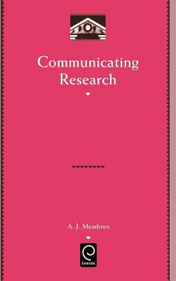 Cover art for Communicating research (1998)