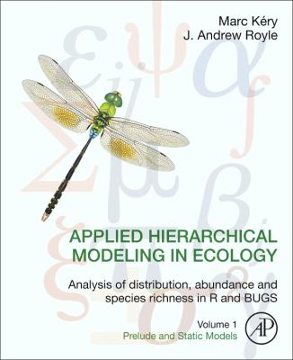 Book Cover: Applied Hierarchical Modeling in Ecology