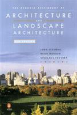 The Penguin Dictionary of Architecture and Landscape Architecture Cover Art