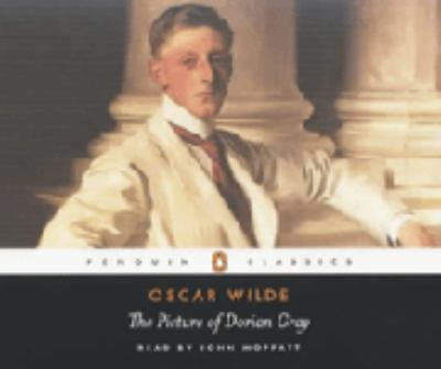 This is an image of the audio book cover of The picture of Dorian Gray.