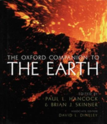 Cover image of The Oxford Companion to the Earth