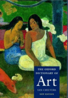 The Oxford Dictionary of Art Cover Art