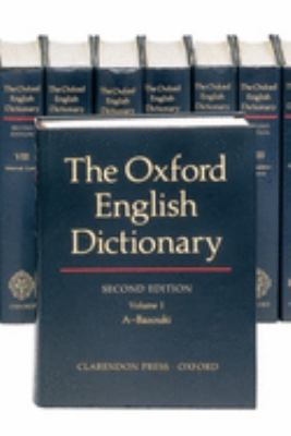 cover of The Oxford English Dictionary