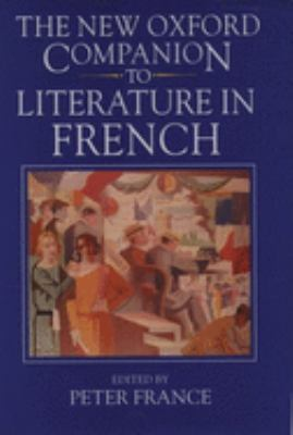 book cover for The New Oxford Companion to Literature in French