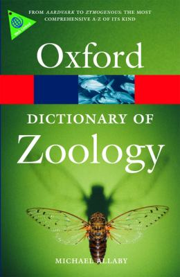 Book cover of Oxford Dictionary of Zoology